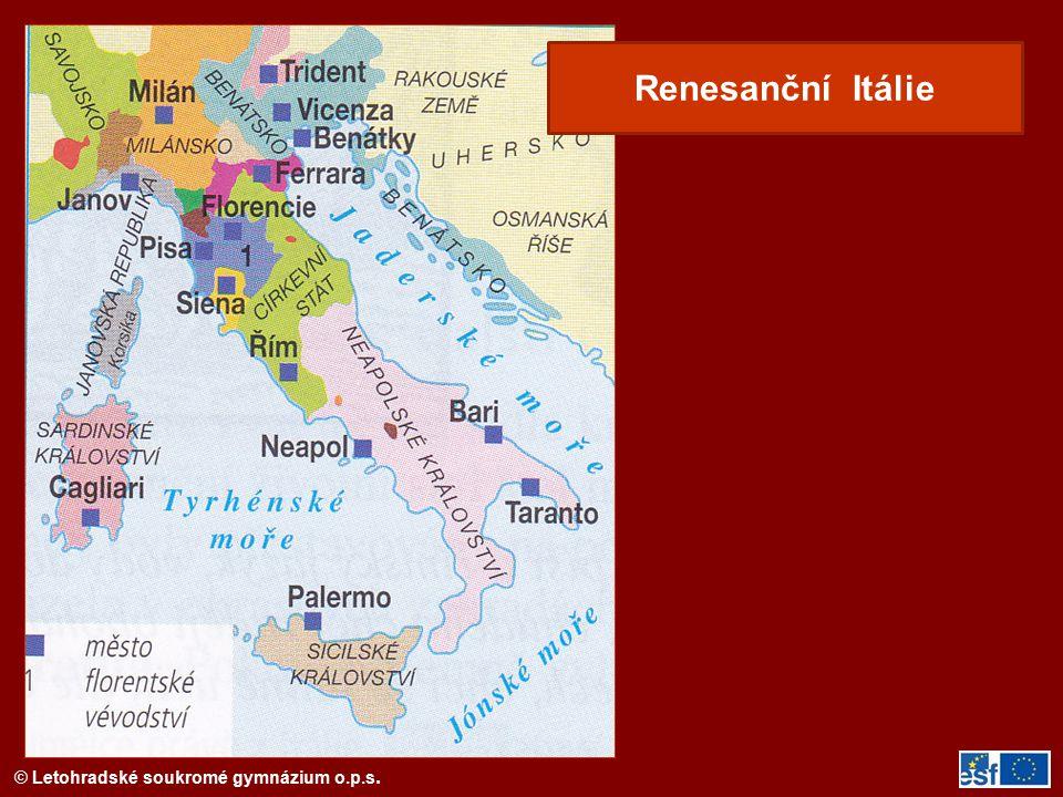 Renesanční Itálie