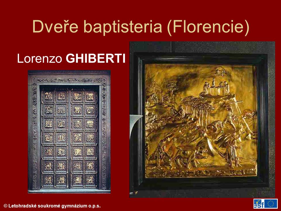 Dveře baptisteria (Florencie)