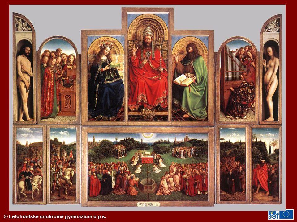 Gentský oltář (1425-32)