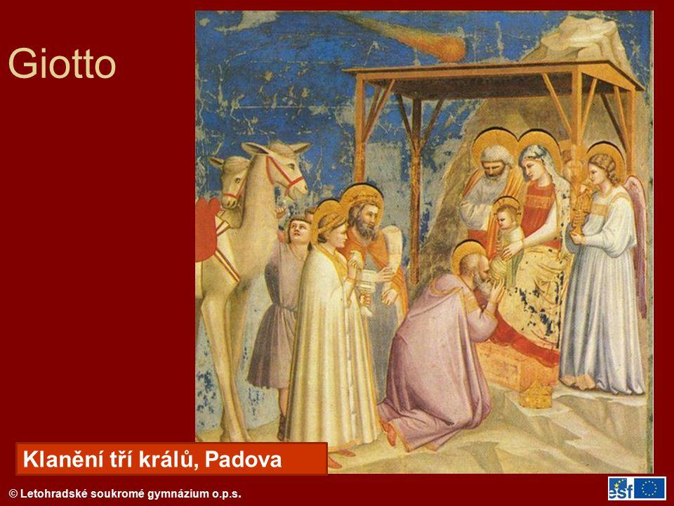 Giotto Klanění tří králů, Padova