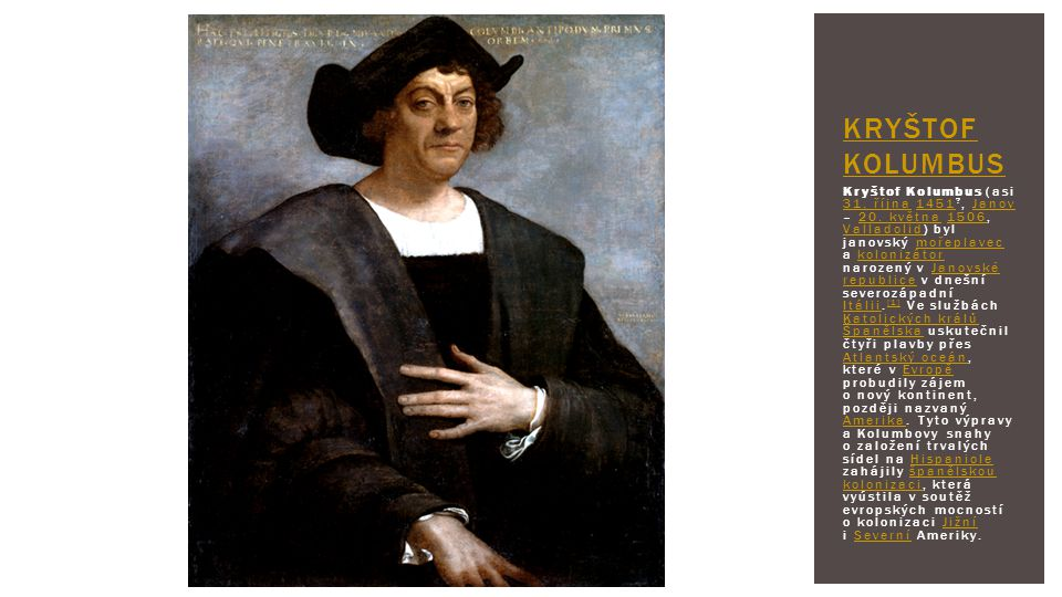 Kryštof Kolumbus