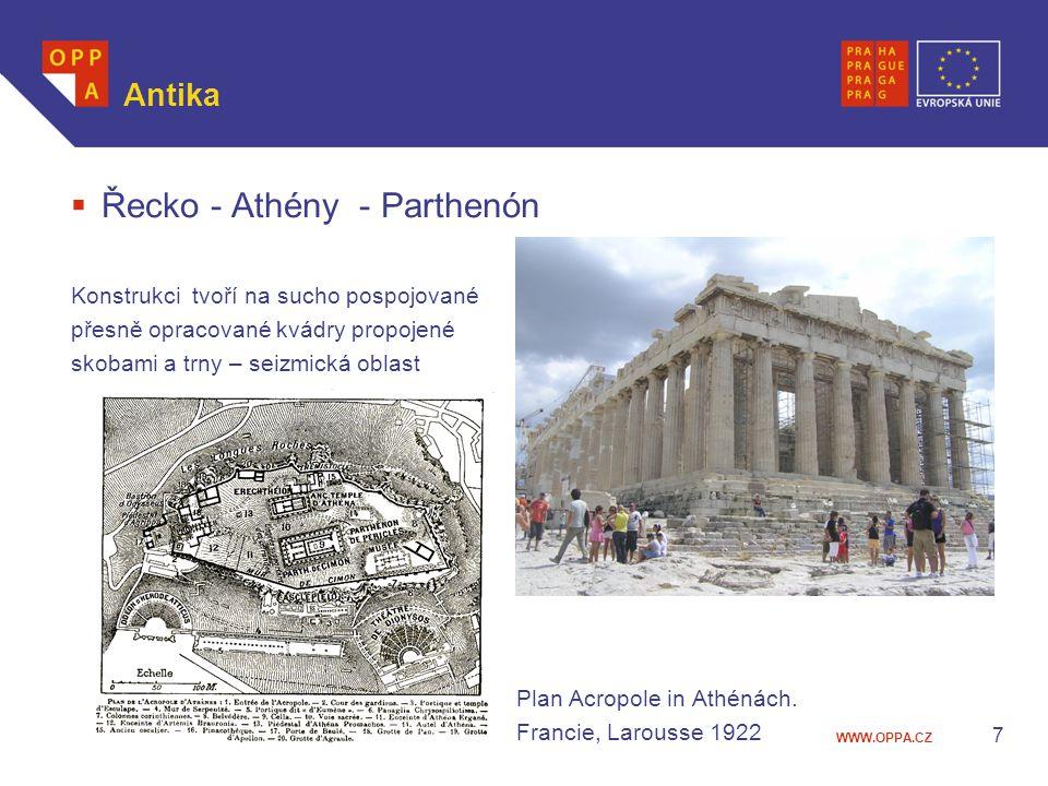 Řecko - Athény - Parthenón