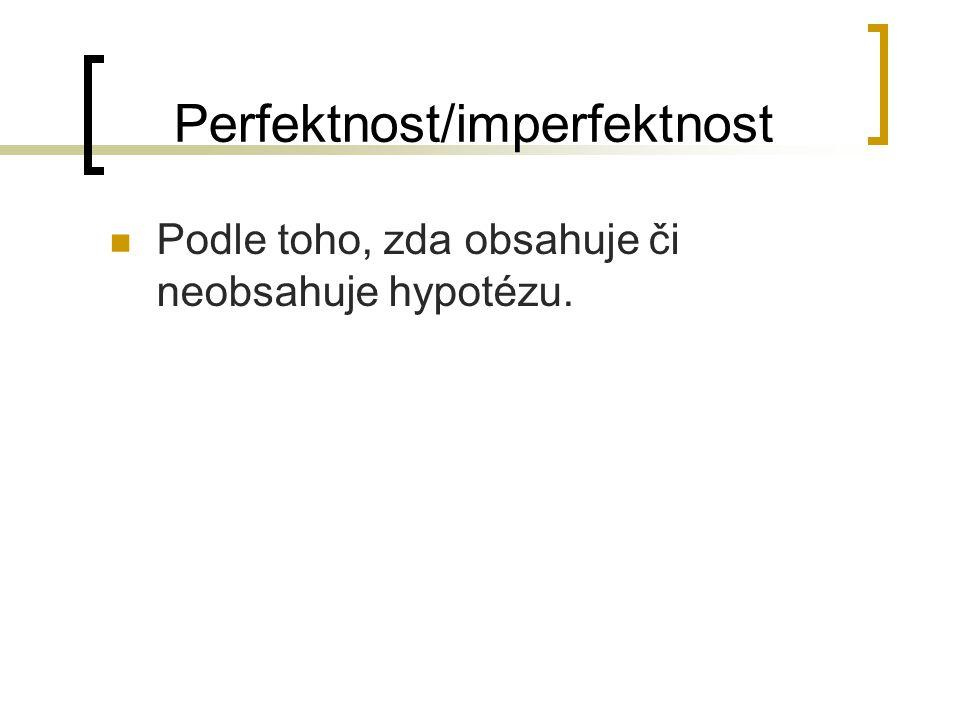 Perfektnost/imperfektnost