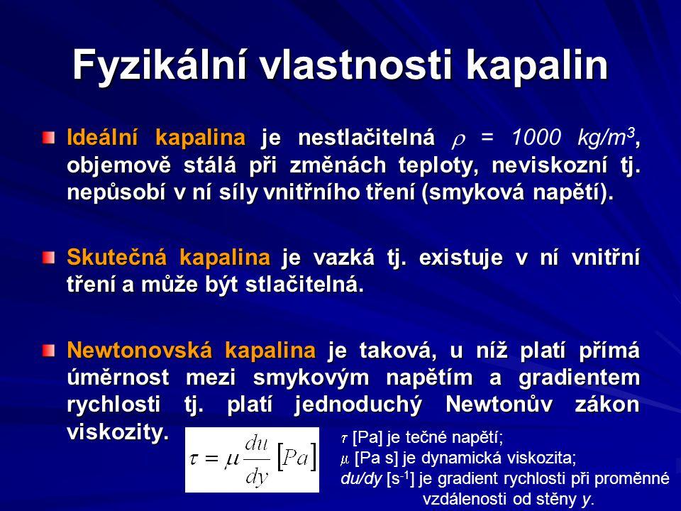 Fyzikální vlastnosti kapalin