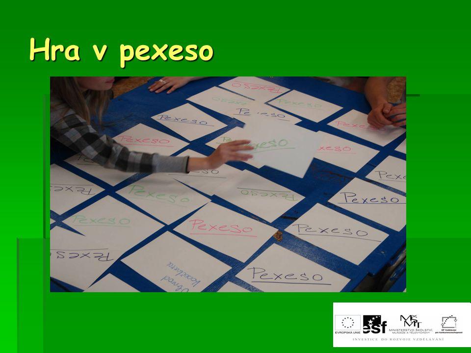 Hra v pexeso