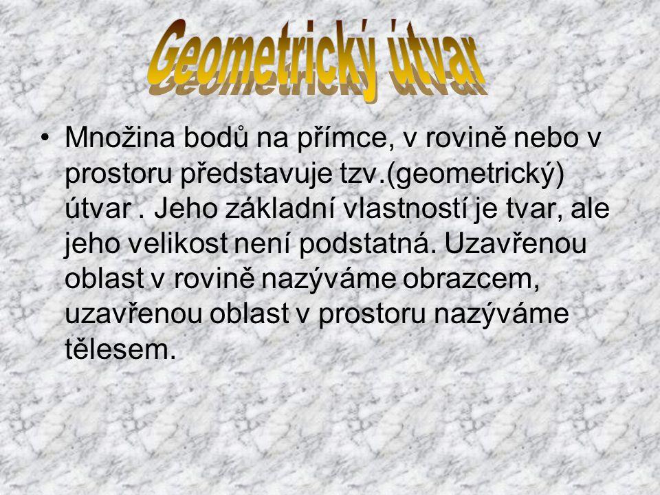 Geometrický útvar