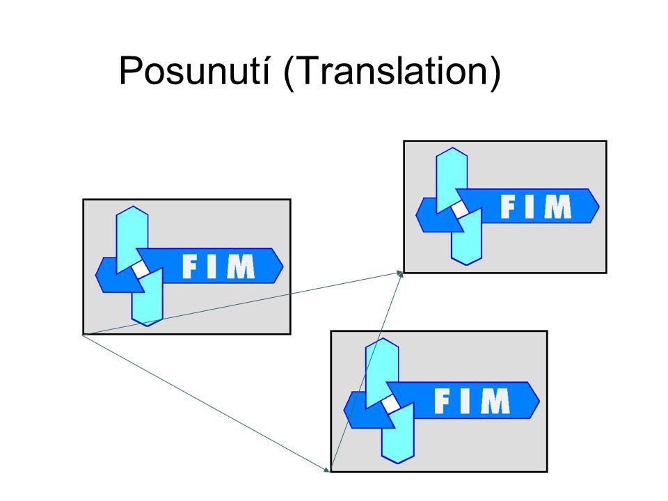Posunutí (Translation)