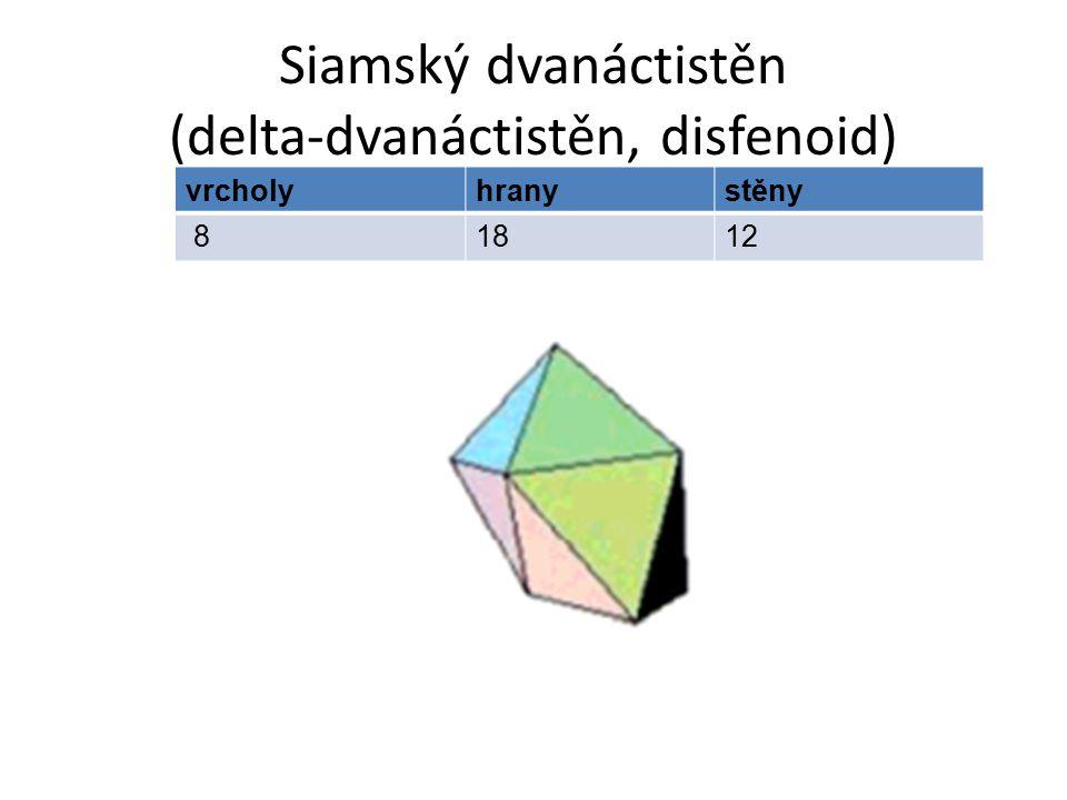 Siamský dvanáctistěn (delta-dvanáctistěn, disfenoid)