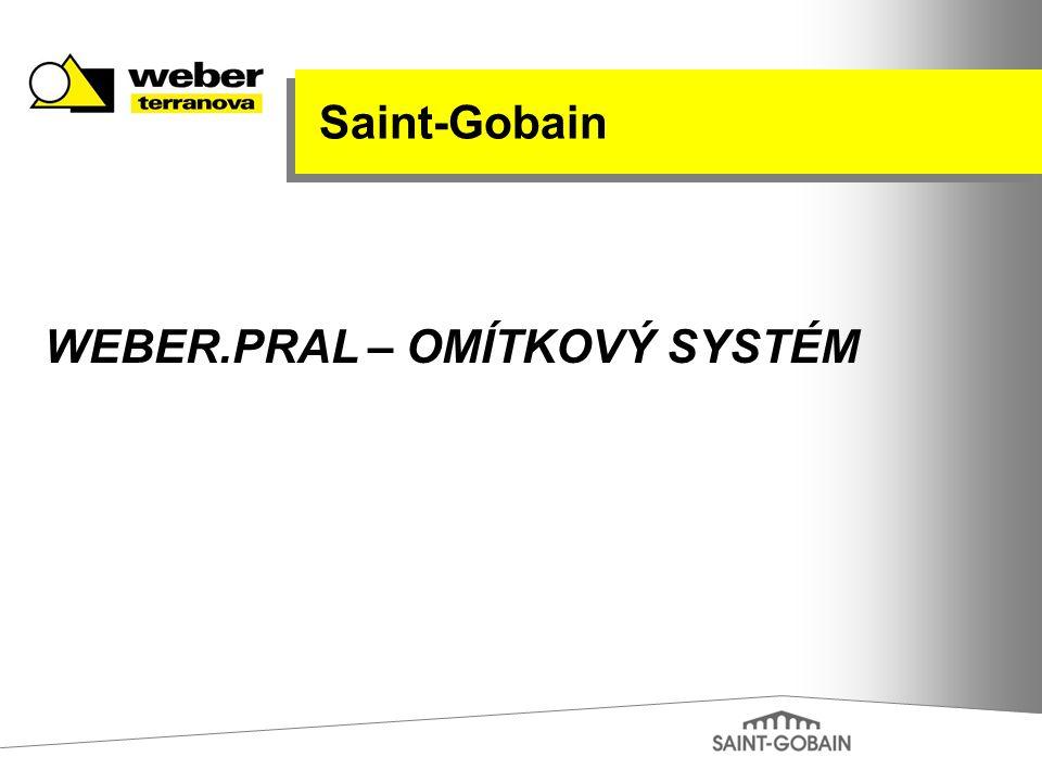 Saint-Gobain WEBER.PRAL – OMÍTKOVÝ SYSTÉM