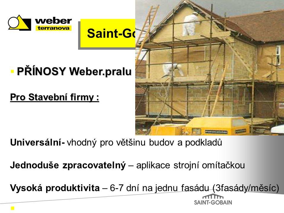 Saint-Gobain Pro Stavební firmy :
