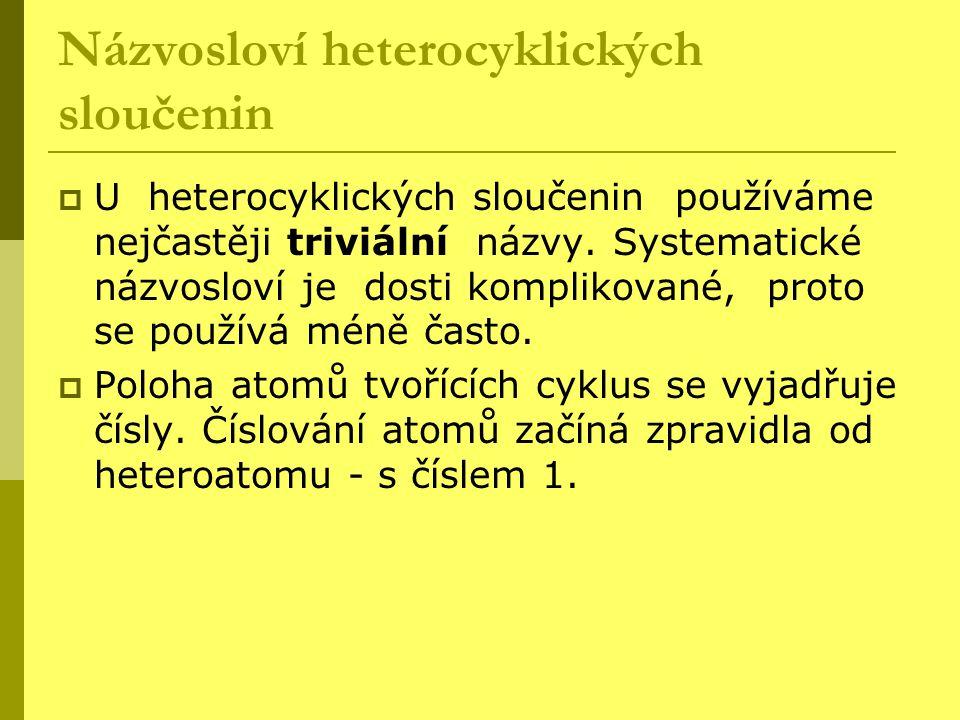 Názvosloví heterocyklických sloučenin