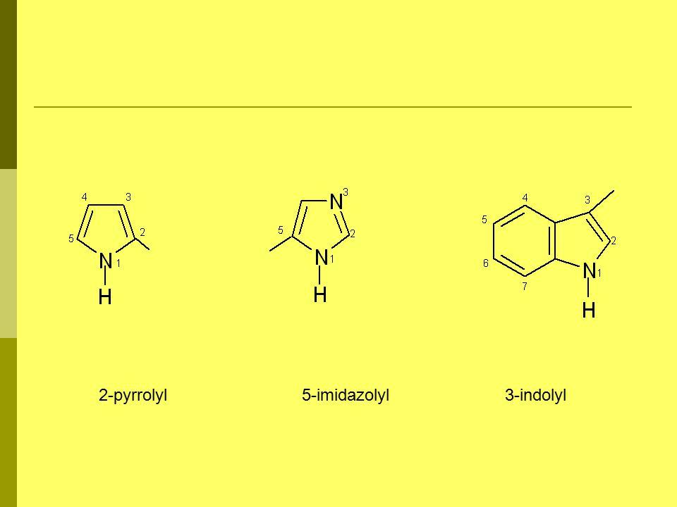 2-pyrrolyl 5-imidazolyl 3-indolyl