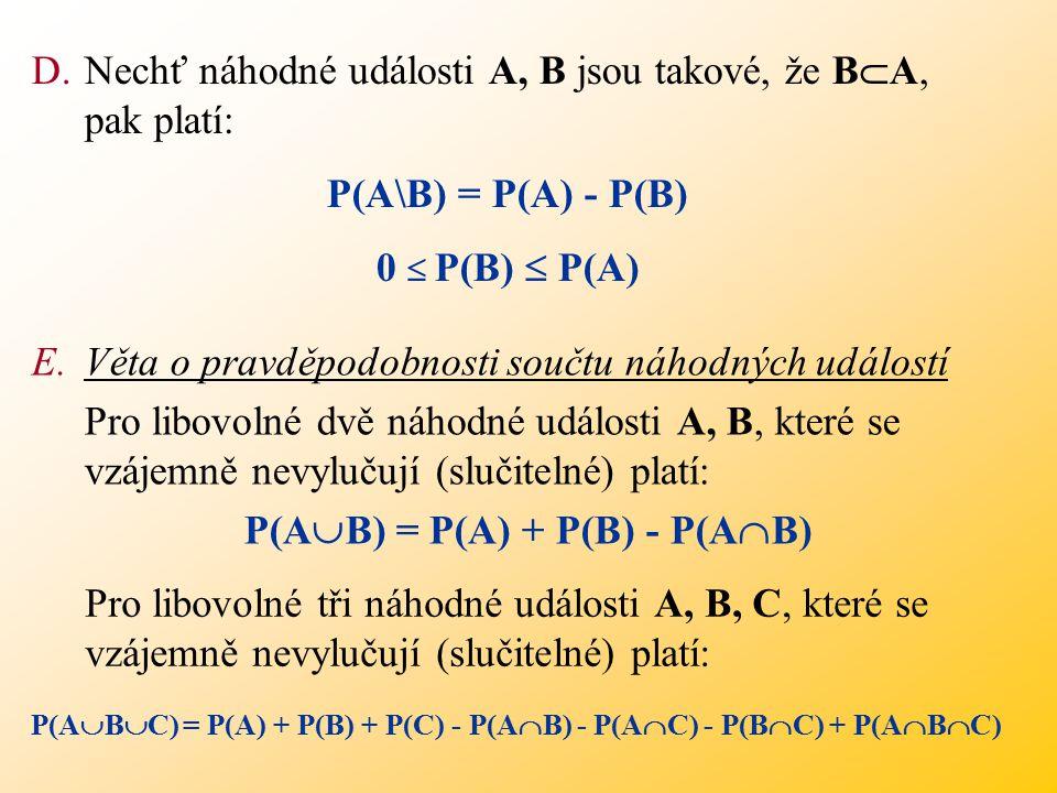 P(AB) = P(A) + P(B) - P(AB)