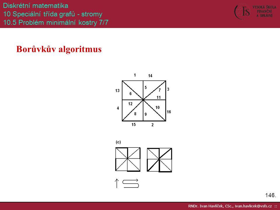 Borůvkův algoritmus Diskrétní matematika