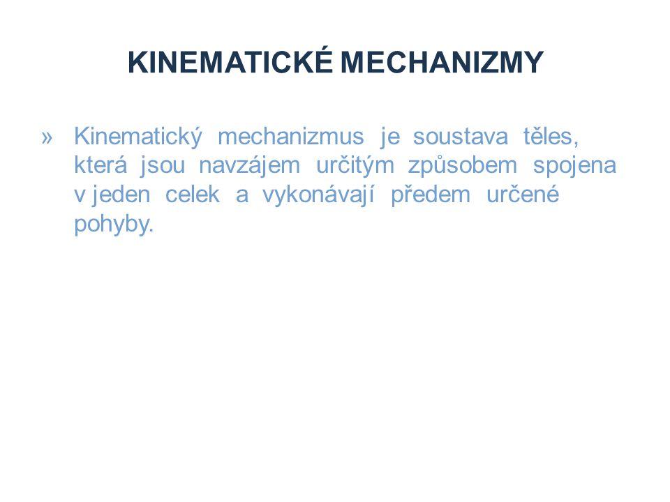 Kinematické mechanizmy