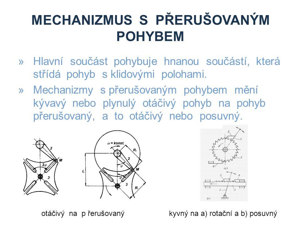 Mechanizmus s přerušovaným pohybem
