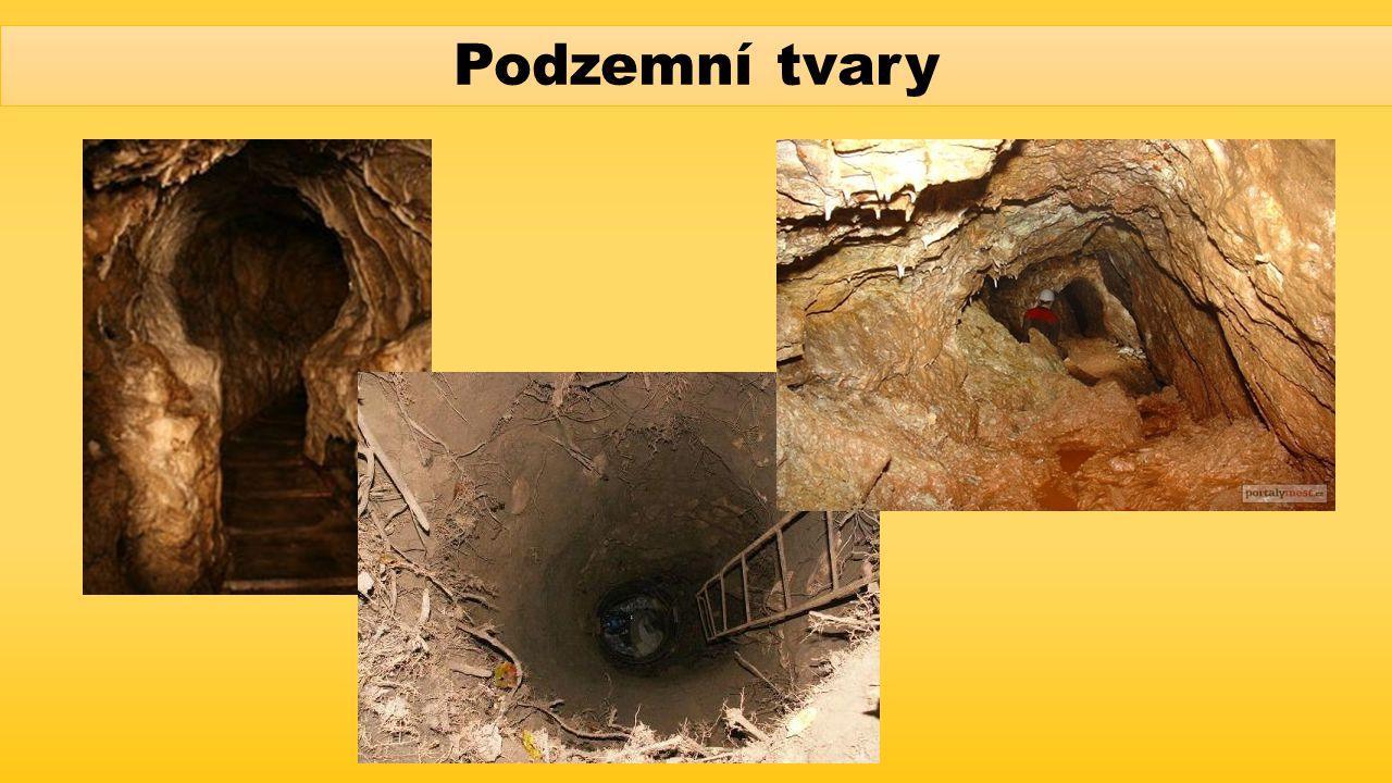 Podzemní tvary