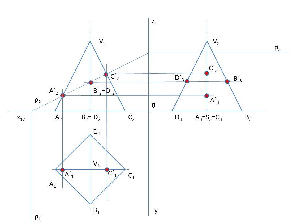 z V2. V3. ρ3. C´3. C´2. D´3. B´3. A´2. B´2=D´2. ρ2. A´3. x12. A2. B2= D2. C2. D3. A3=S3=C3.