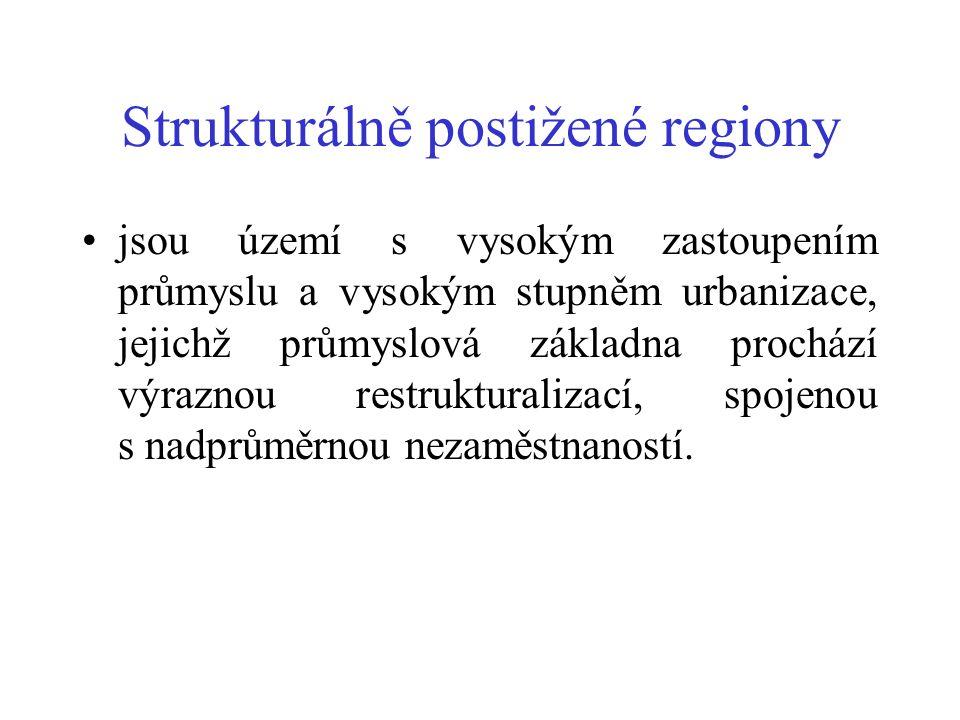 Strukturálně postižené regiony
