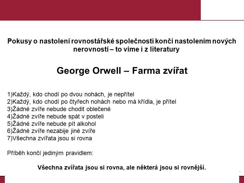 George Orwell – Farma zvířat
