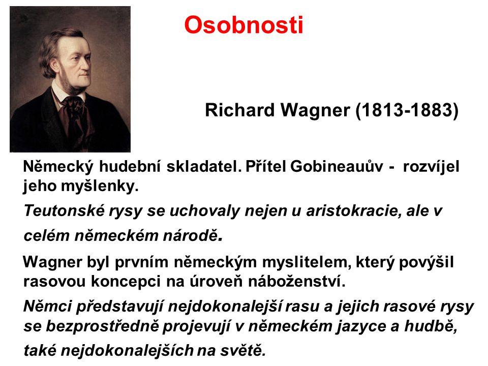 Osobnosti Richard Wagner (1813-1883)