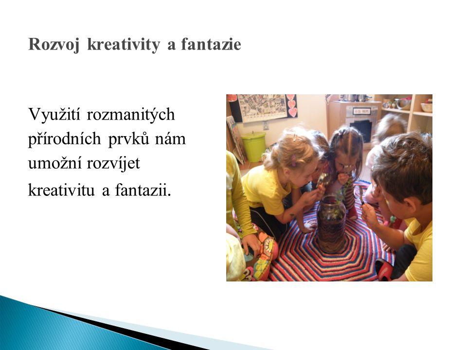 Rozvoj kreativity a fantazie