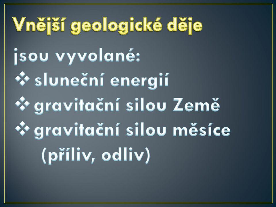 gravitační silou měsíce (příliv, odliv)