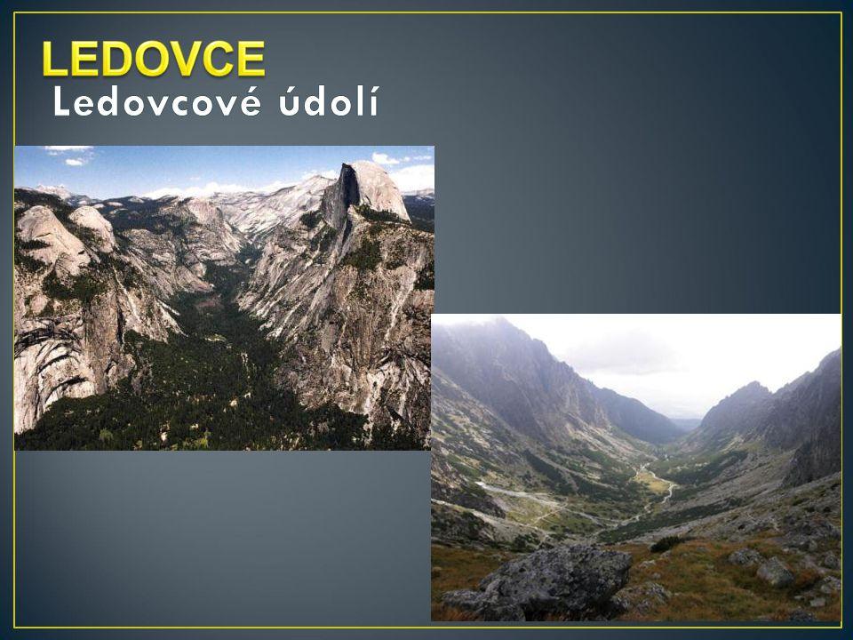 LEDOVCE Ledovcové údolí