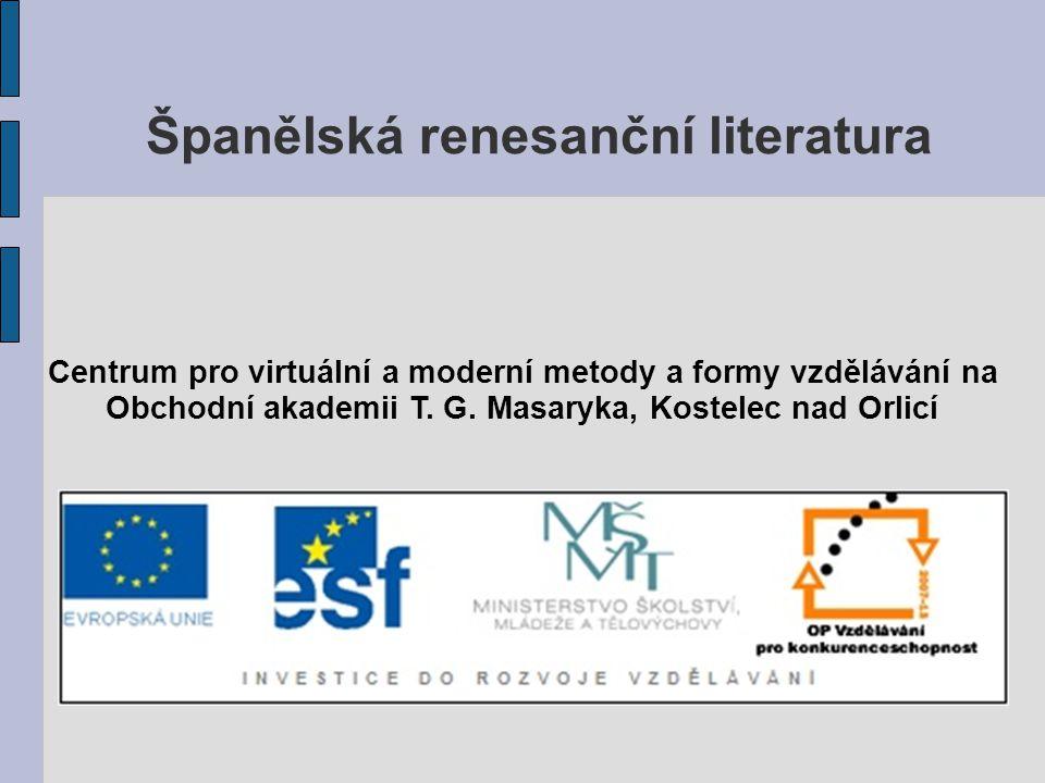 Španělská renesanční literatura