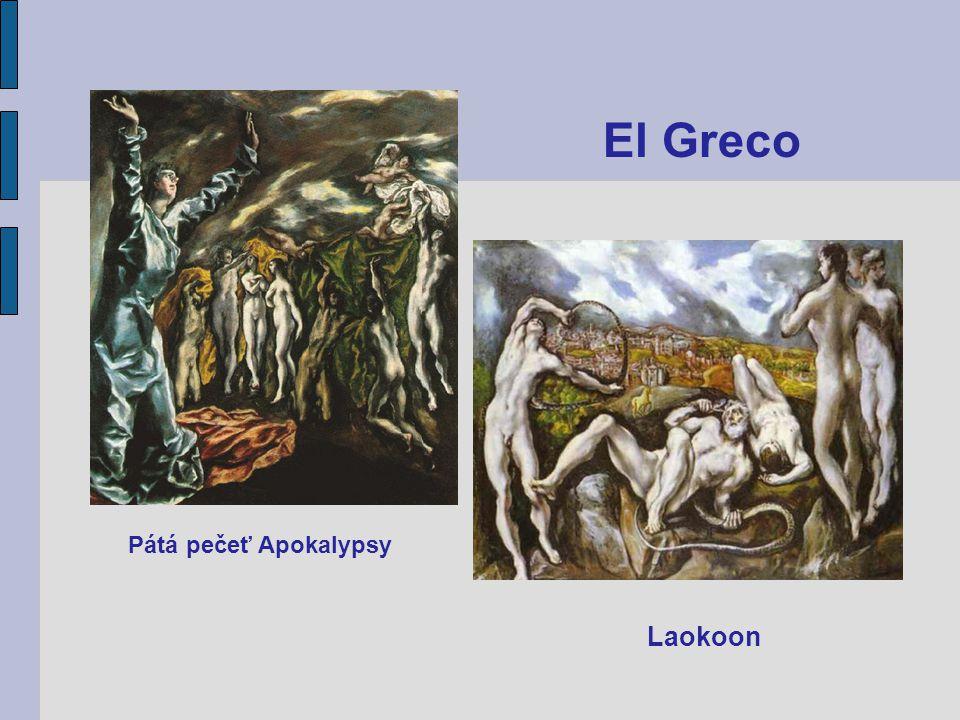 El Greco Pátá pečeť Apokalypsy Laokoon
