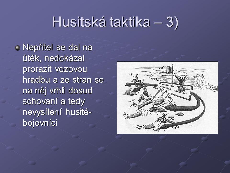 Husitská taktika – 3)