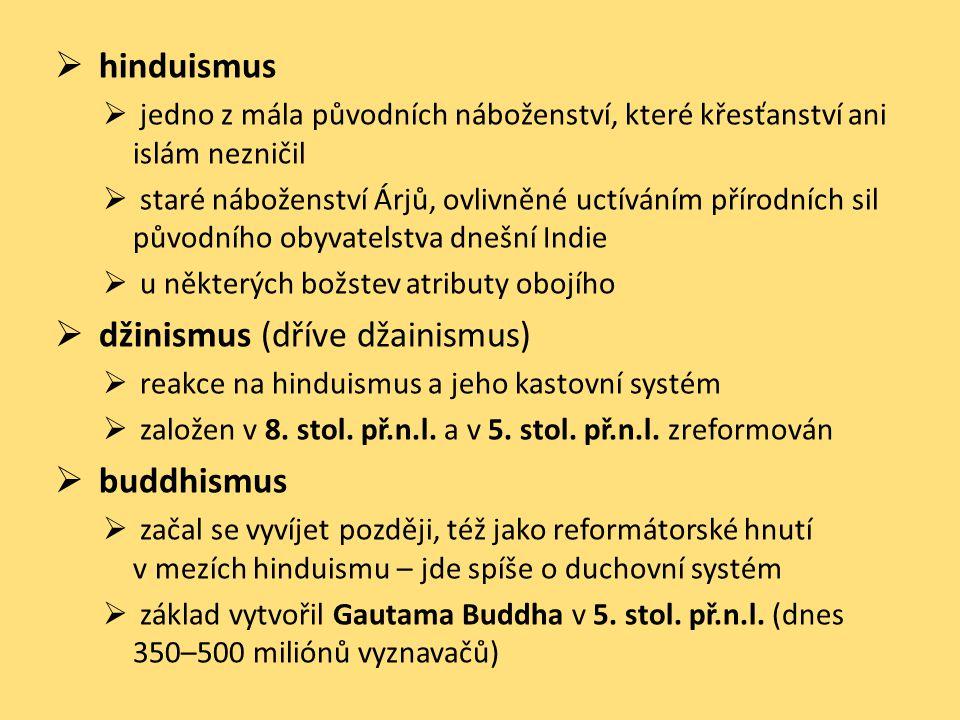 džinismus (dříve džainismus)