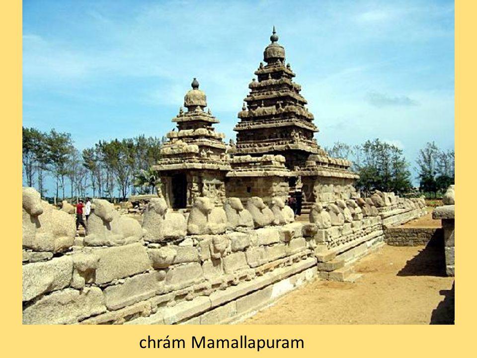 chrám Mamallapuram