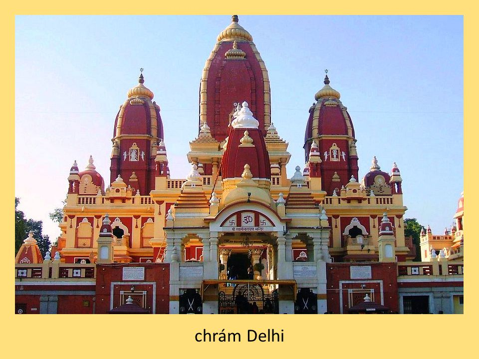 chrám Delhi