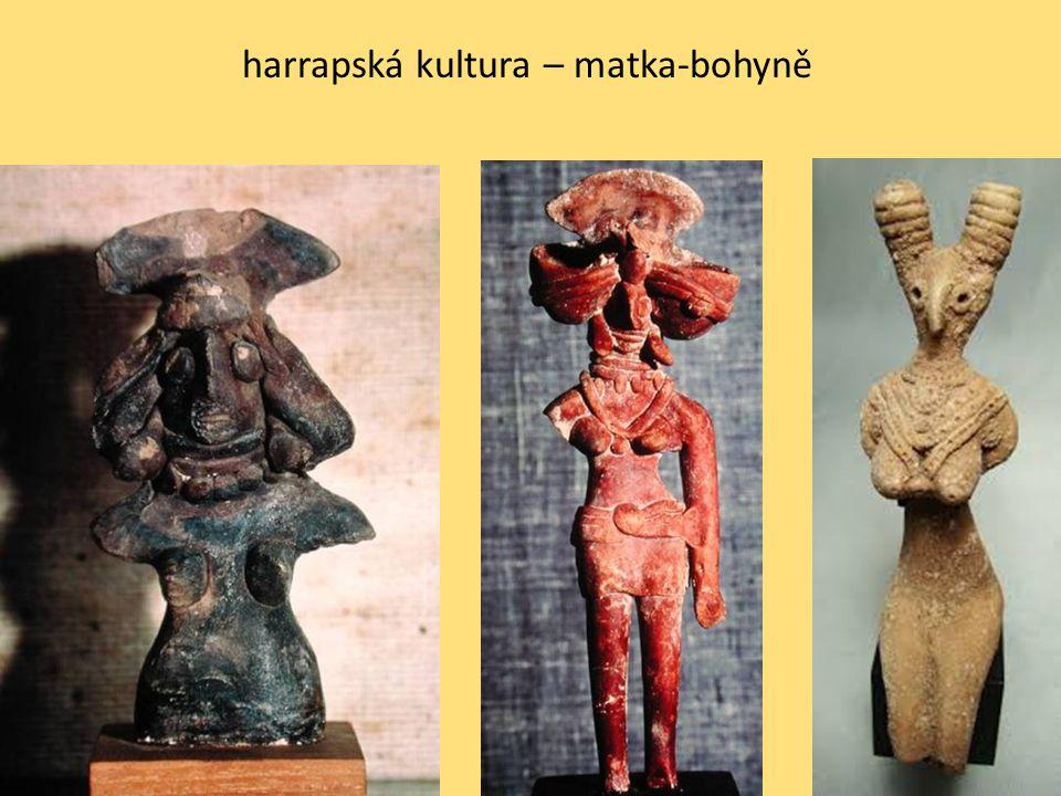 harrapská kultura – matka-bohyně