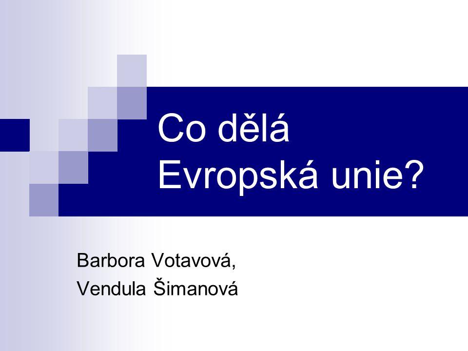Barbora Votavová, Vendula Šimanová