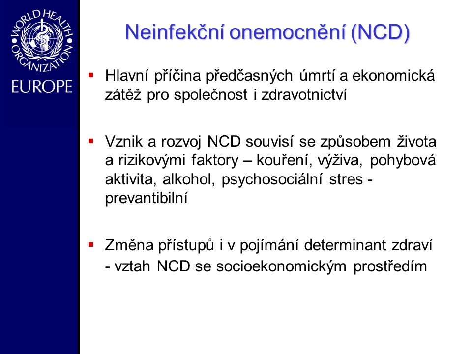 Neinfekční onemocnění (NCD)