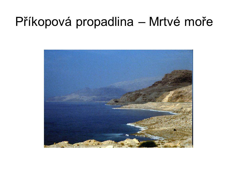 Příkopová propadlina – Mrtvé moře