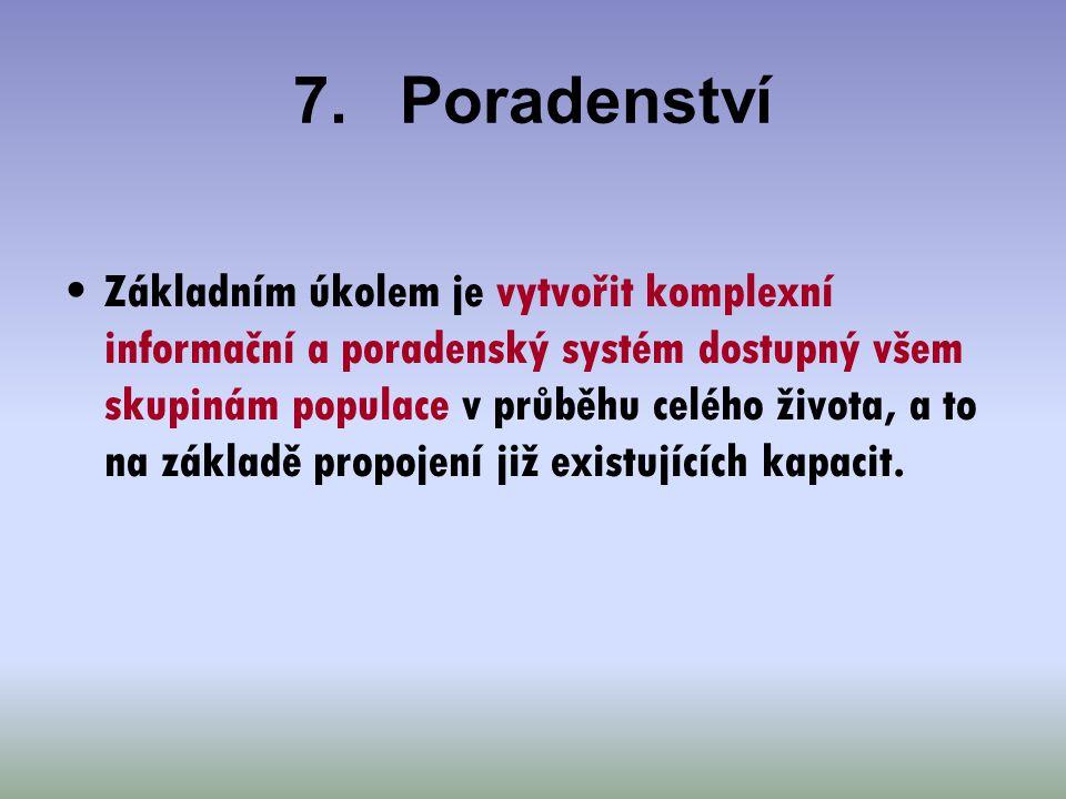 7. Poradenství