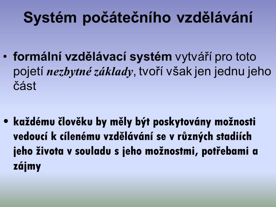 Systém počátečního vzdělávání