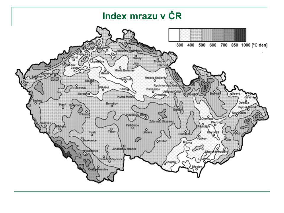 Index mrazu v ČR