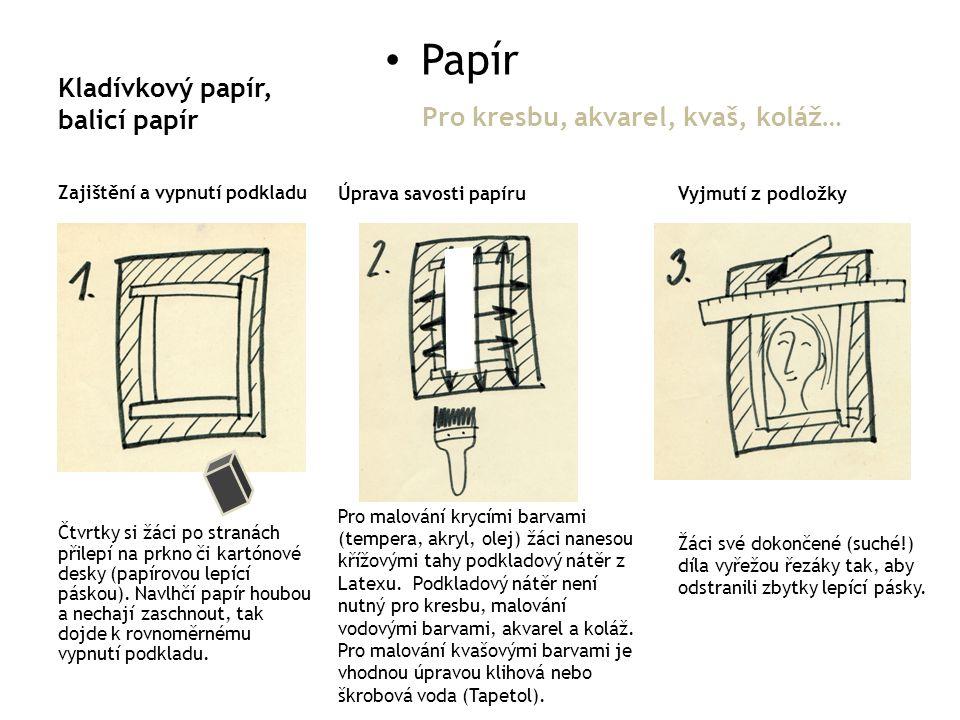 Kladívkový papír, balicí papír