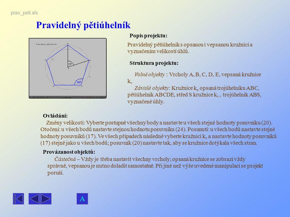 Pravidelný pětiúhelník
