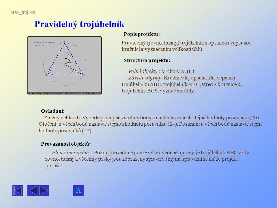 Pravidelný trojúhelník