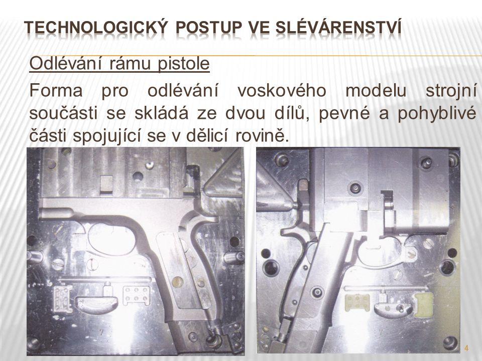 Technologický Postup ve SlÉvÁrenství
