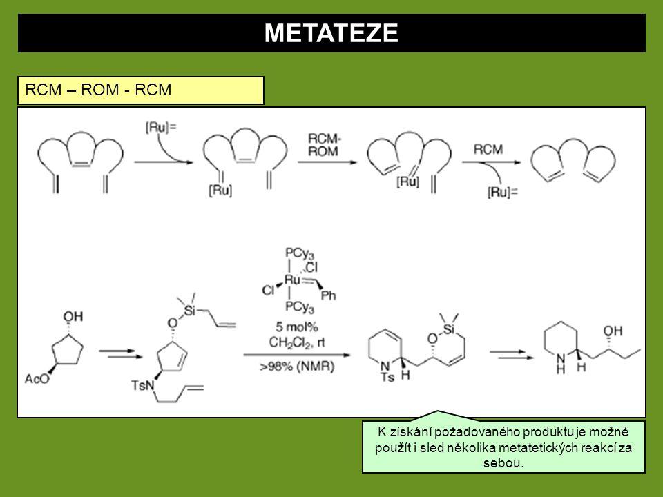 METATEZE RCM – ROM - RCM.