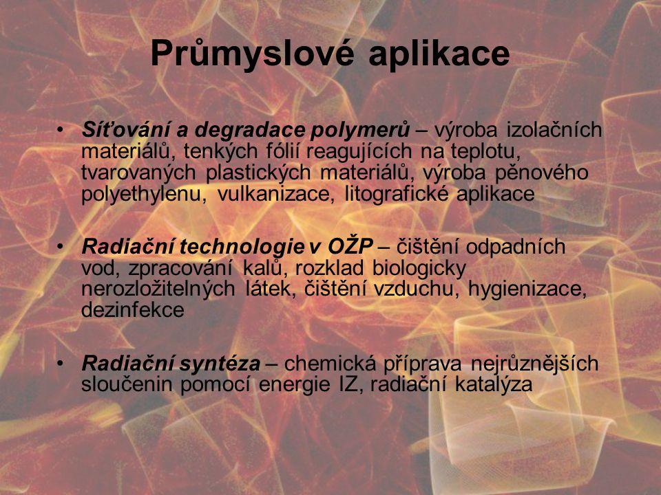 Průmyslové aplikace