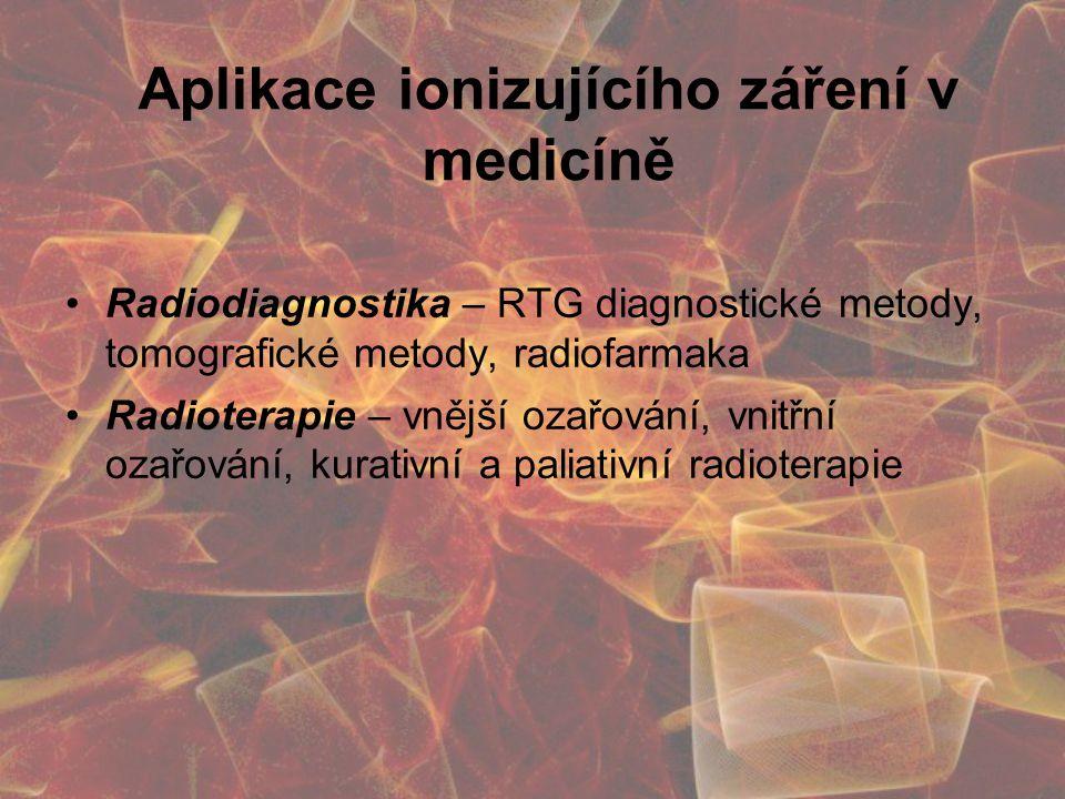 Aplikace ionizujícího záření v medicíně