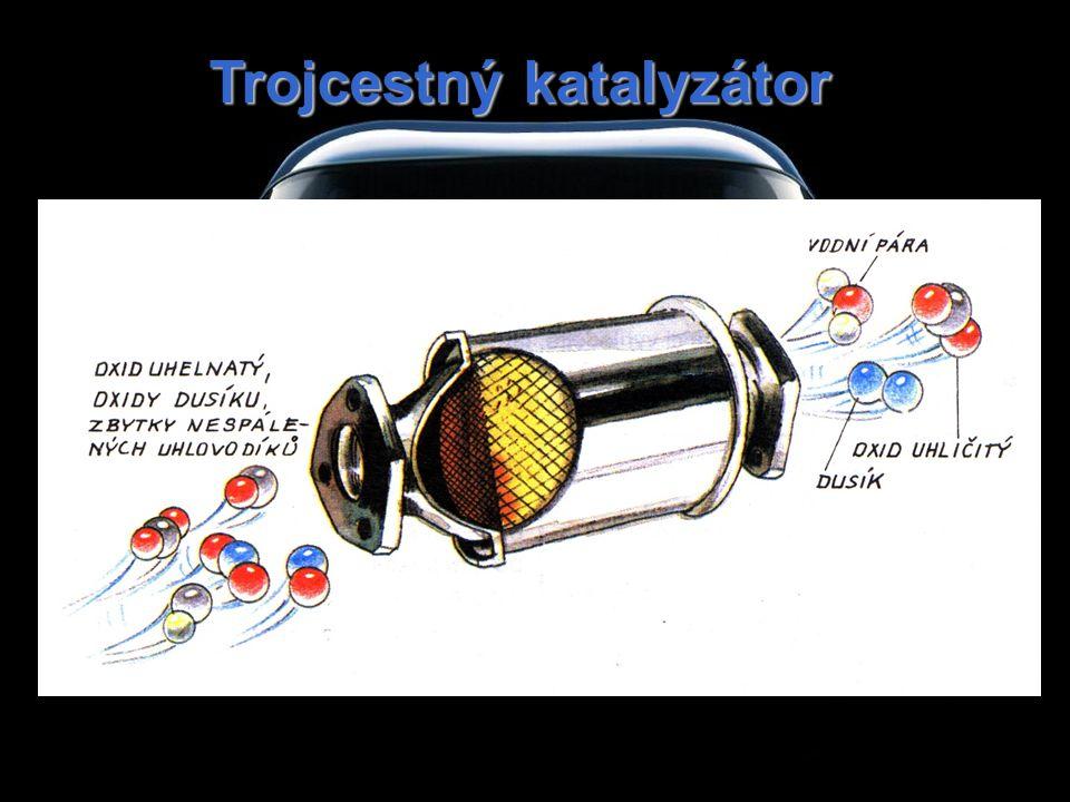 Trojcestný katalyzátor