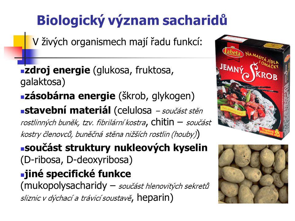 Biologický význam sacharidů